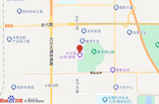 合肥马塔塔动物王国地图