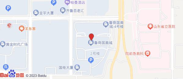 鲁商国奥城小区地图