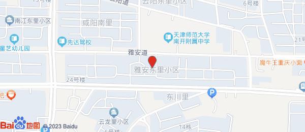 雅安东里小区地图
