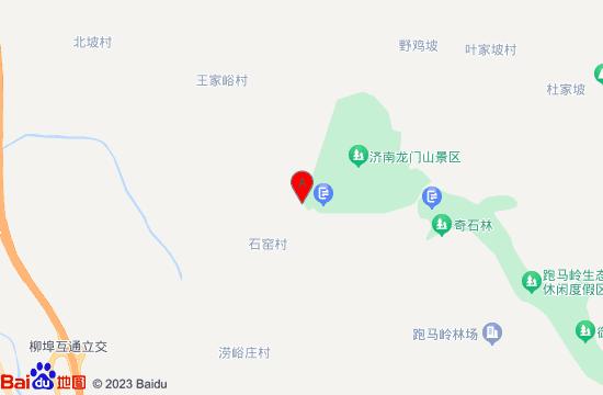 济南龙门山地图