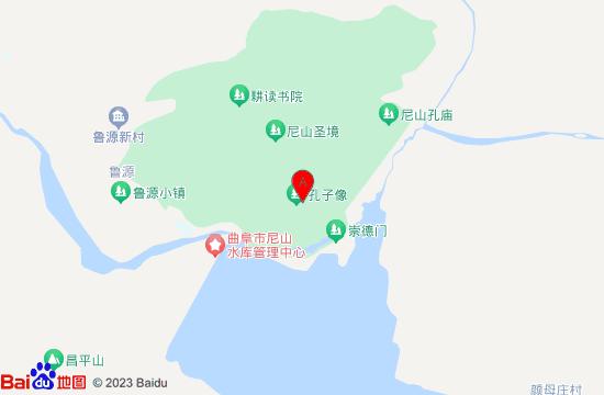 曲阜尼山圣境文化旅游度假区地图