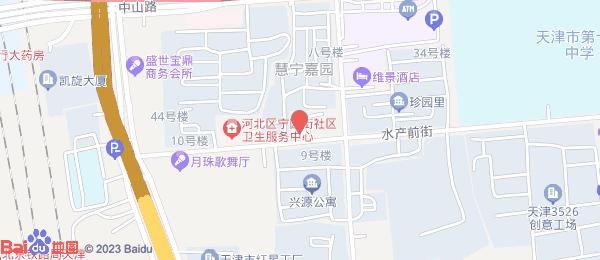 皓园里小区地图