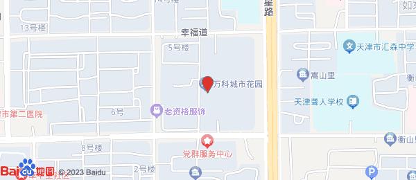 万科城市花园小区地图