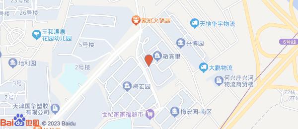 敬宾里小区地图