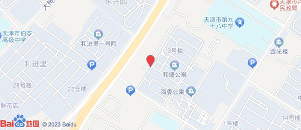 和盛温泉公寓小区地图