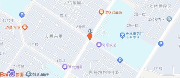 友爱东里小区地图