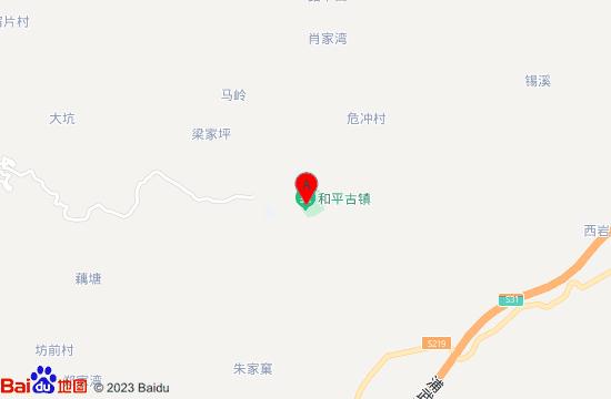 邵武和平古镇地图