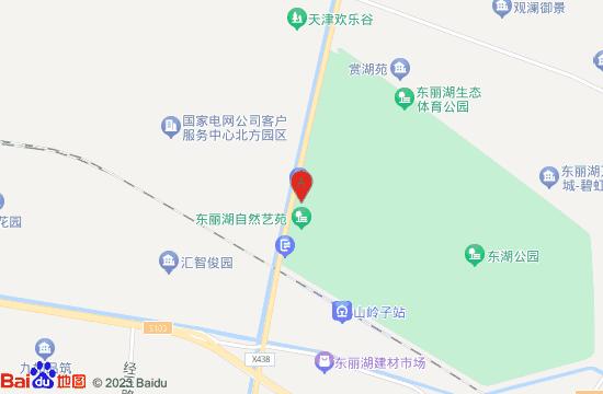 东丽湖自然艺苑区地图