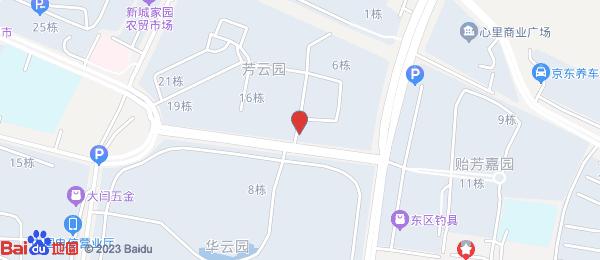 芳云园小区地图