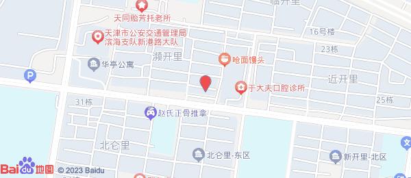 新城家园小区地图