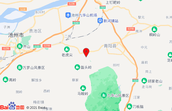 九华山地图