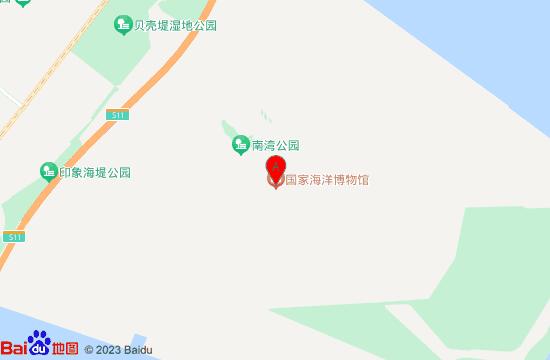 天津国家海洋博物馆地图