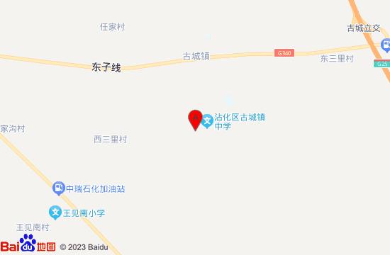 滨州沾化古城地图