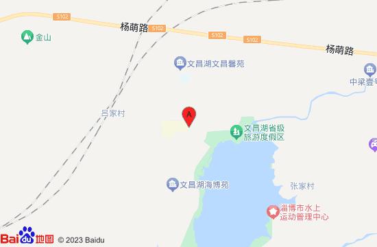 淄博文昌湖都市农业生态博览园地图