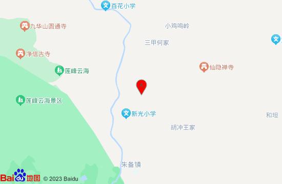 九华山荣玺温泉地图