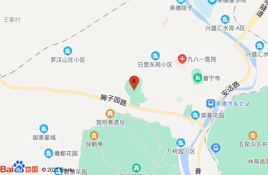 普陀宗乘之庙地图