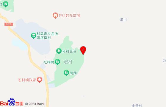 黄山宏村景区-黄山旅游团三日游地图