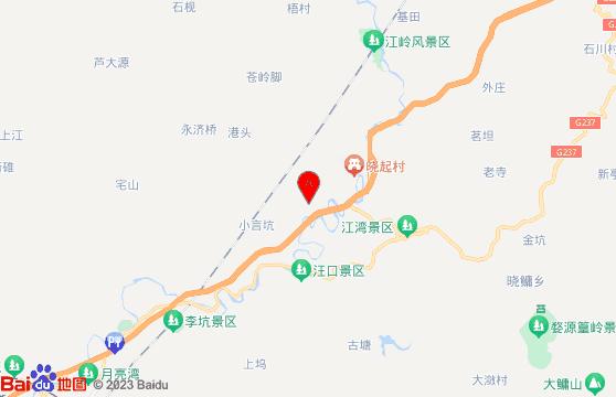 婺源篁岭一日游地图