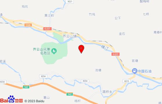 亚博正品平台旅游景点-齐云山交通地图