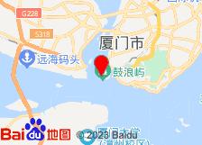 厦门鼓浪屿浮云家庭旅馆酒店地图