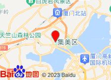 厦门杏博湾天沐温泉度假村酒店地图