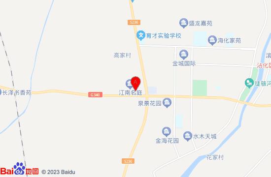 滨州市沾化冬枣生态旅游区地图