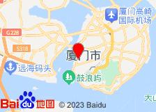 厦门泛太平洋大酒店酒店地图