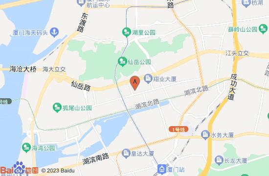 厦门闽南神韵地图