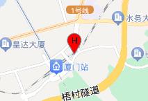 速8酒店(厦门火车站假日商城店)电子地图