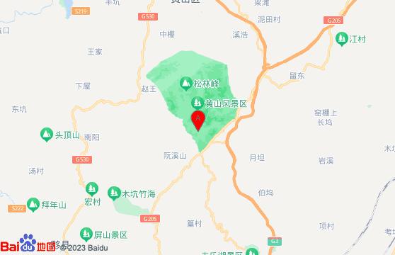 黄山旅游团-黄山风景区交通指南