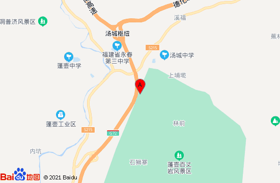 永春天沐温泉地图