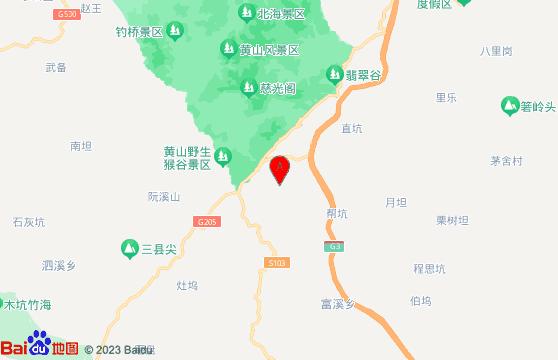 黄山旅游团黄山风景区交通指南