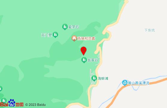 黄山旅游团交通-翡翠谷风景区