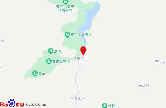 青州天赐山地图
