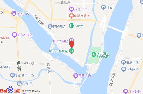 临沂市博物馆地图