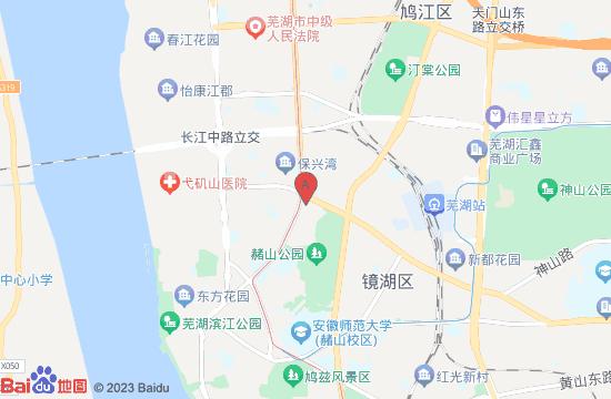 芜湖梵高星空艺术馆地图