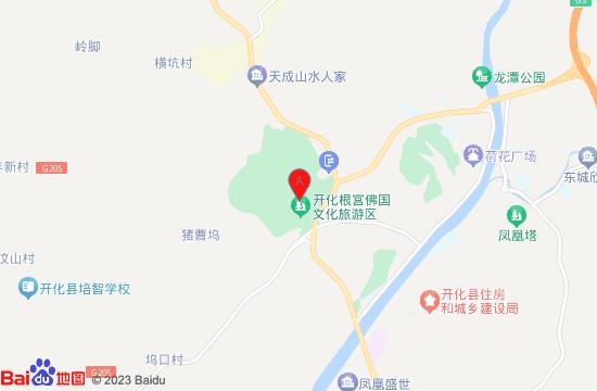 开化根宫佛国地图