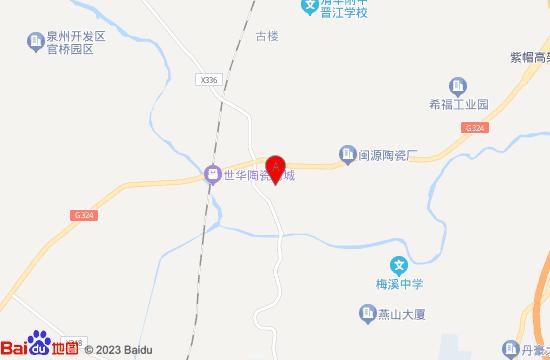 泉州延福寺地图