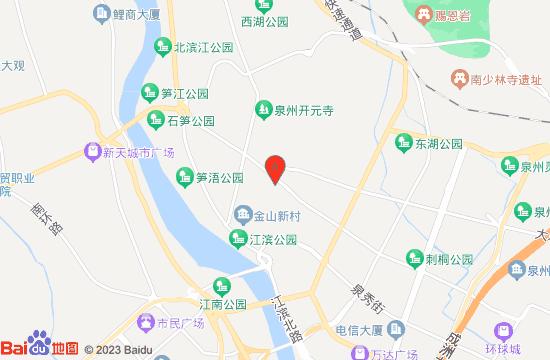 泉府印象三道行艺术馆地图