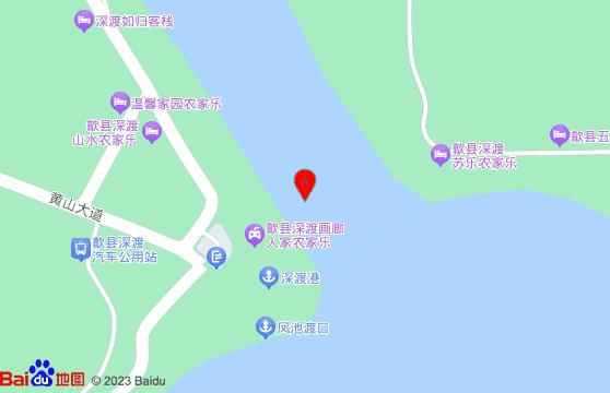 新安江山水画廊交通-黄山旅游跟团半日游线路