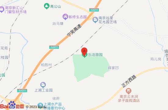 南京谷里金陵国花园地图