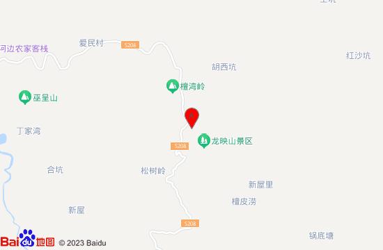 泾县龙映山漂流地图