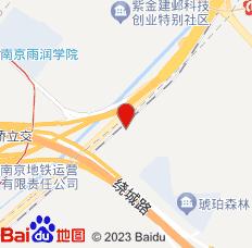 南京雨花晶丽酒店位置图