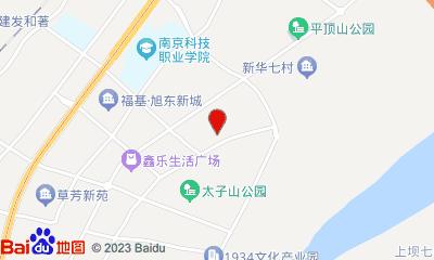 幸福蓝海国际影城大厂苏宁店周边地图