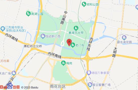 南京水母云1618地图