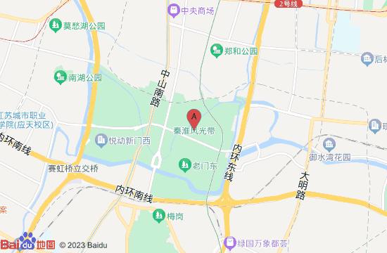 南京王导谢安纪念馆地图
