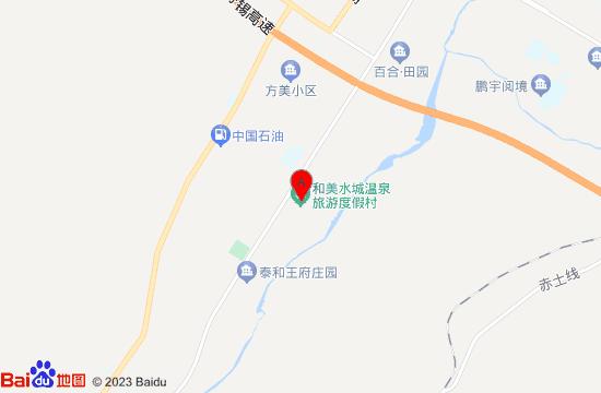 赤峰和美水城温泉地图