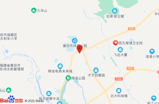 莆田萤火虫蹦床主题公园地图