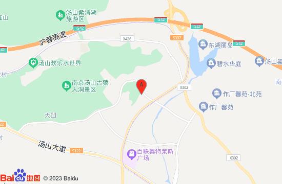 汤山金乌温泉公园地图