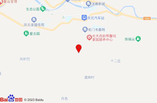 庆元大济古村地图